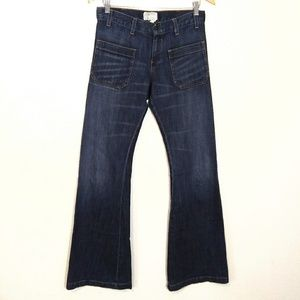 Current Elliot high waist patch pocket jeans